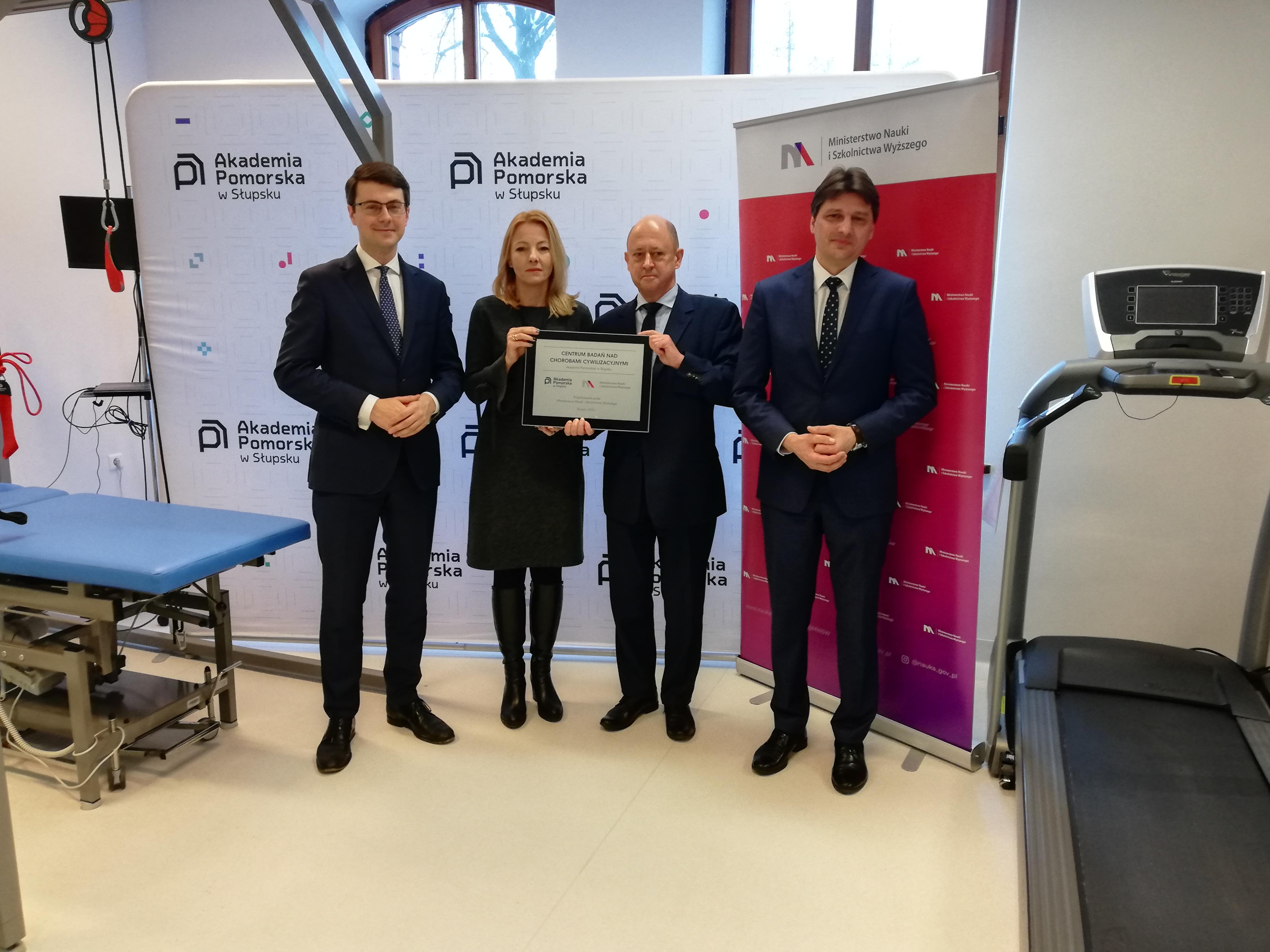 MNiSW przekaże 1,7 mln zł na utworzenie Centrum Badań nad Chorobami Cywilizacyjnymi na Akademii Pomorskiej w Słupsku