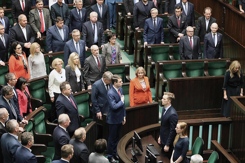 Wiceminister nauki i szkolnictwa wyższego Piotr Müller złożył ślubowanie i oficjalnie objął mandat poselski.