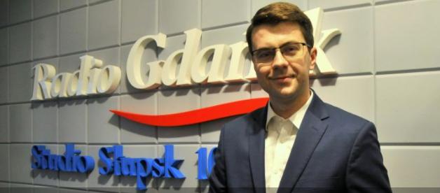Radio Gdańsk: wiceminister Müller w wywiadzie o aktywności dla Słupska