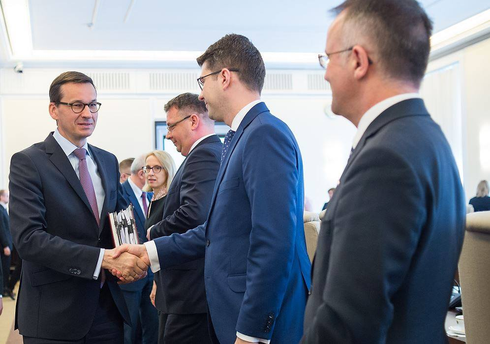 Premier Morawiecki ponownie powołał Piotra Müllera na stanowisko wiceministra w MNiSW