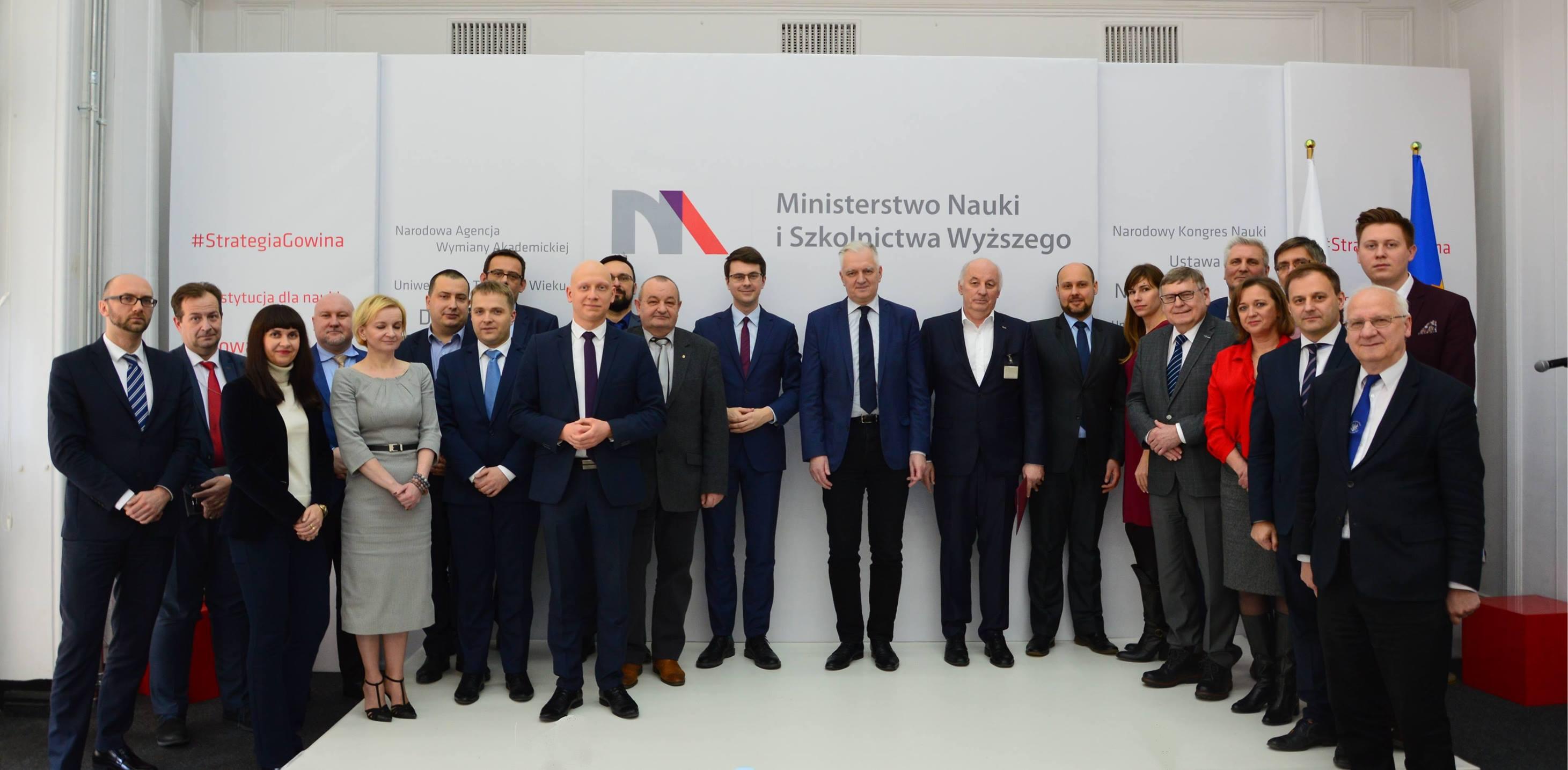 Zespół ds. monitorowania wdrażania reformy nauki i szkolnictwa wyższego powołany!