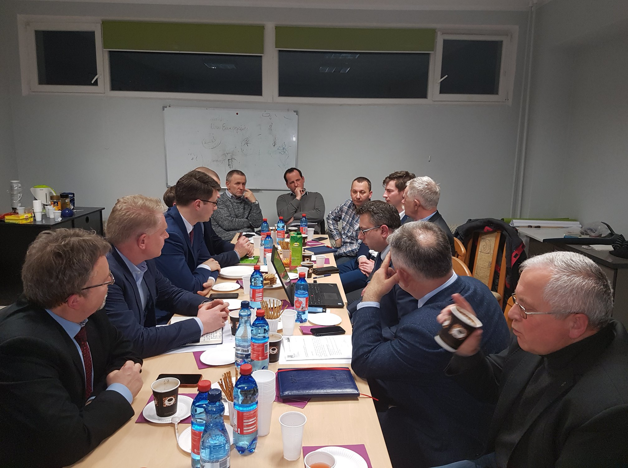 Poseł Müller uczestniczył w spotkaniu Zarządu Okręgowego PiS