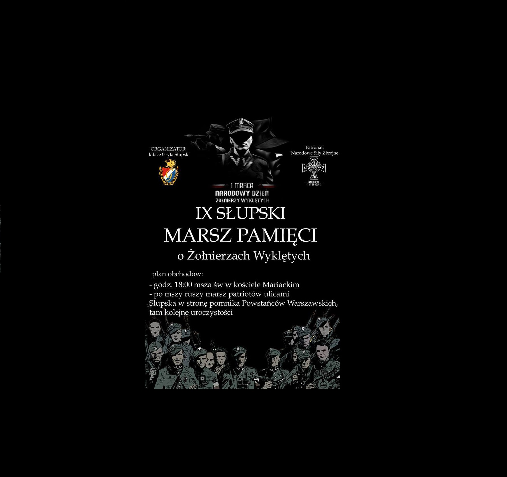 IX Słupski Marsz Pamięci o Żołnierzach Wyklętych