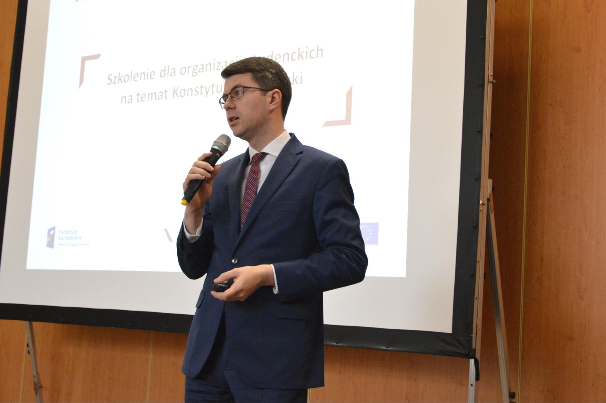 Organizacje studenckie uczestniczyły w szkoleniu zorganizowanym przez MNiSW na temat Konstytucji dla Nauki