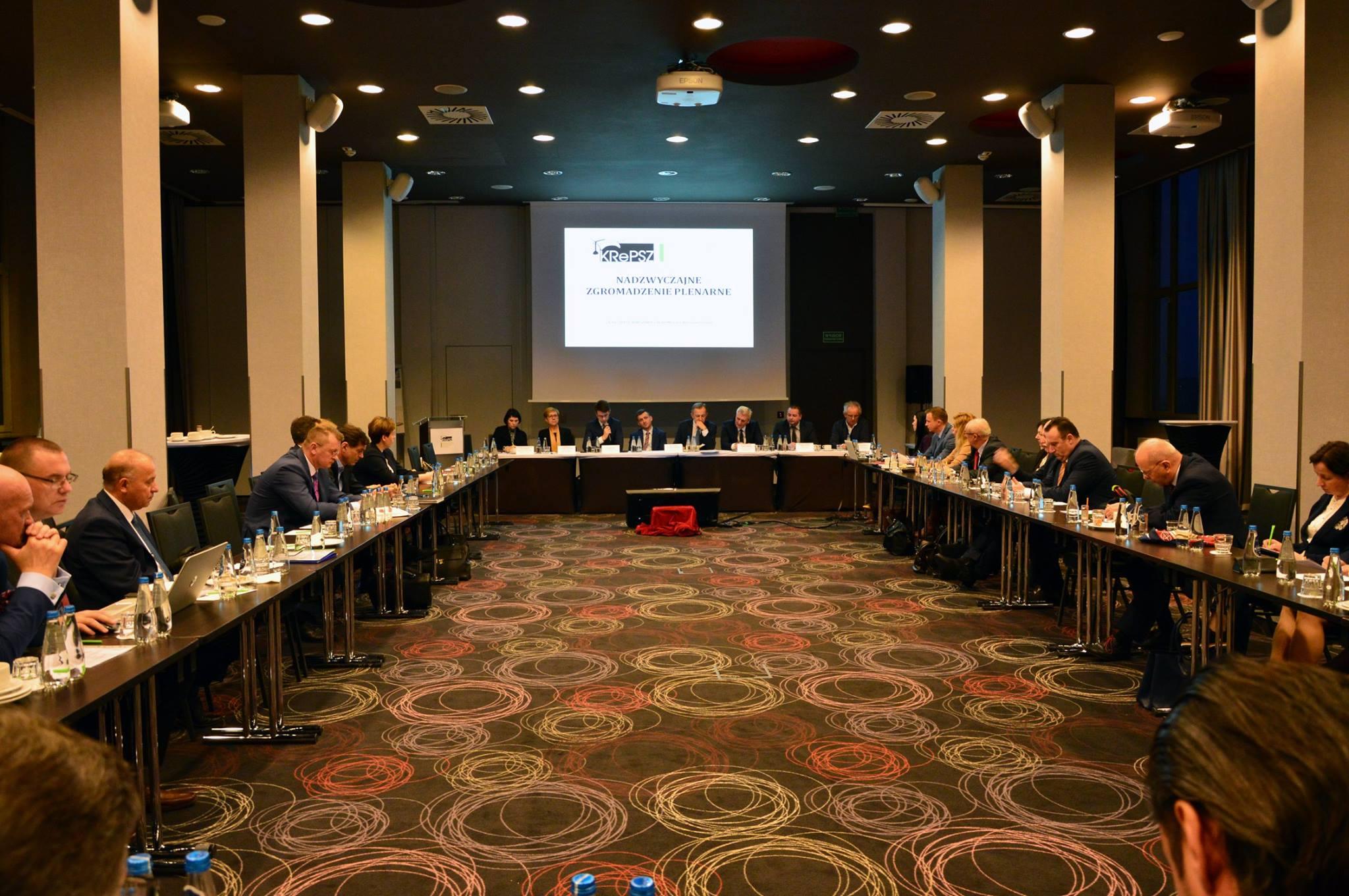 Wiceminister Piotr Müller uczestniczył w Nadzwyczajnym Zgromadzeniu Plenarnym Konferencji Rektorów Publicznych Uczelni Zawodowych.