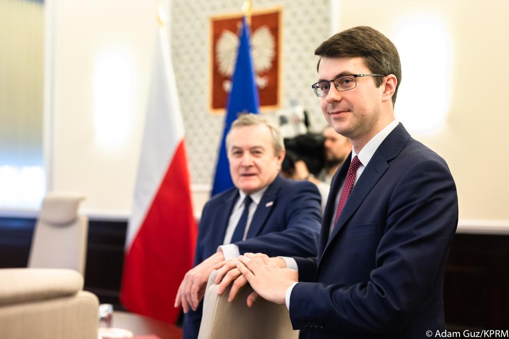 Wiceminister Piotr Müller wziął udział w posiedzeniu Rady Ministrów