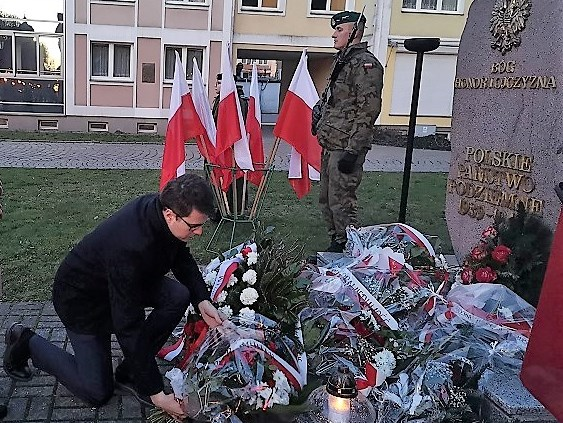 Poseł Piotr Müller wziął udział w uroczystościach Narodowego Dnia Pamięci Żołnierzy Wyklętych