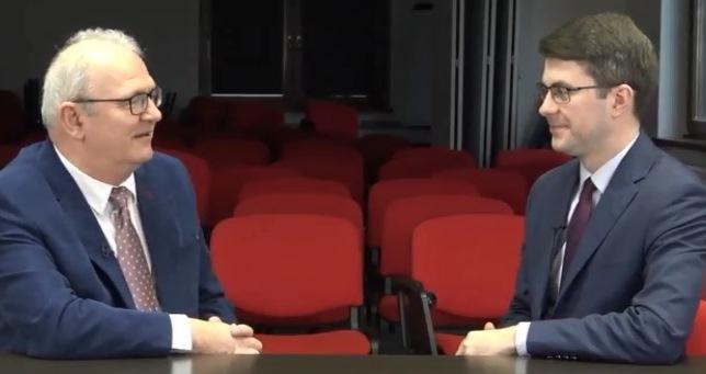 Piotr Müller w TV Słupsk