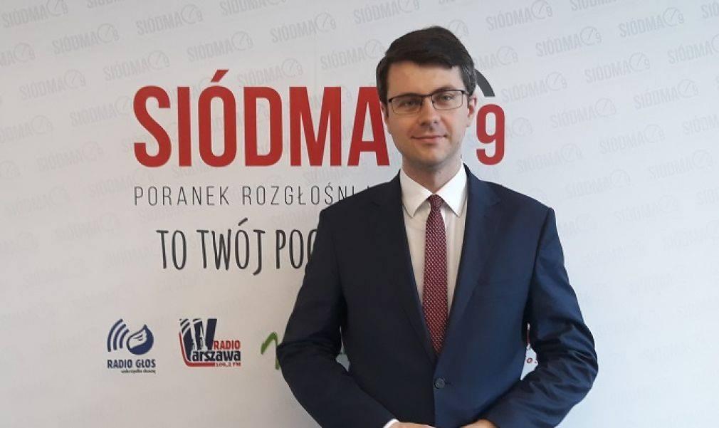 Poseł Piotr Müller był gościem programu Siódma9.pl - poranek rozgłośni katolickich