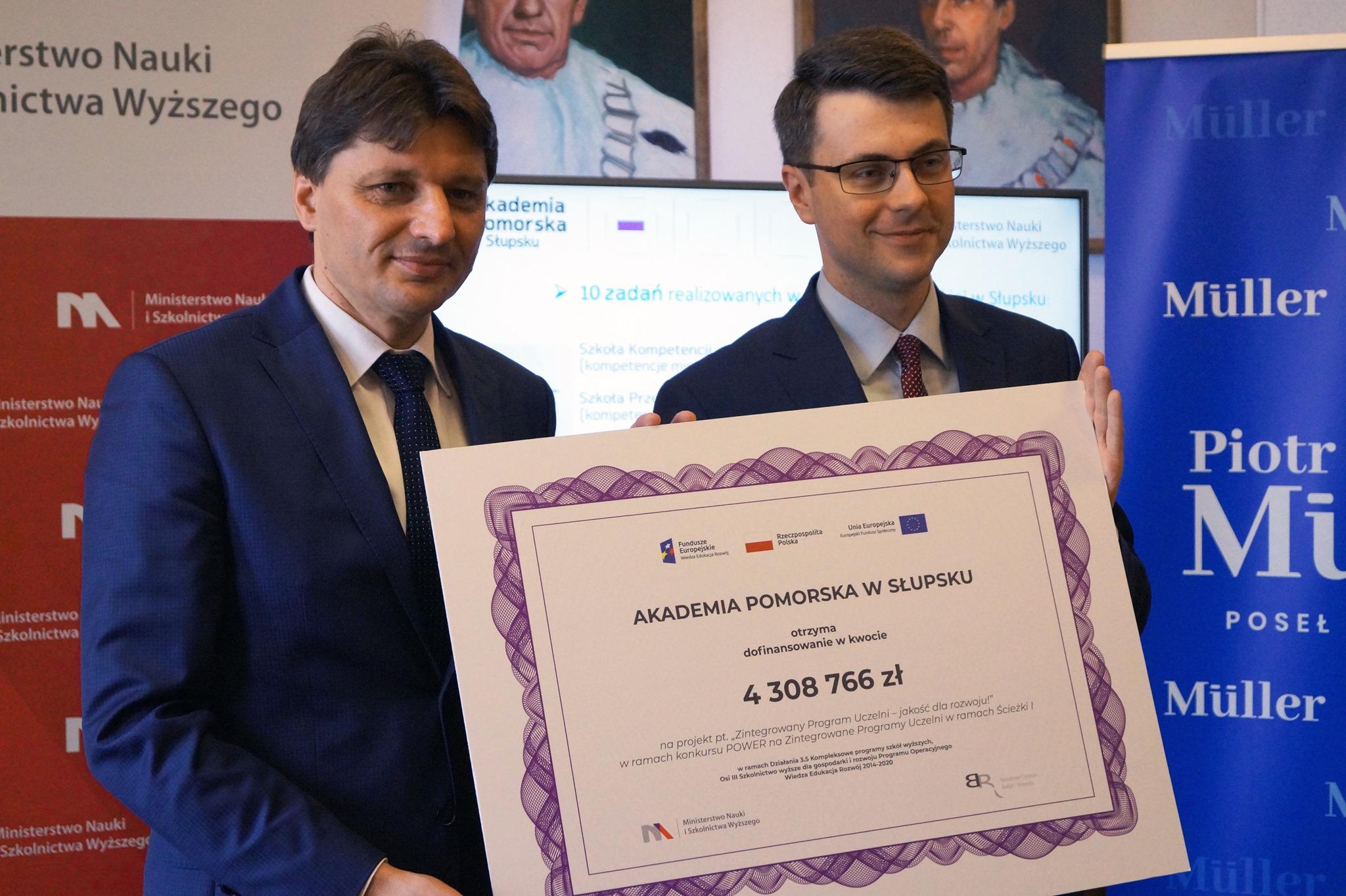 Dofinansowanie Akademii Pomorskiej w Słupsku