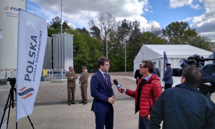 W Kępicach uruchomiono pierwszą na Pomorzu Środkowym i szóstą w Polsce wyspową stację regazyfikacj