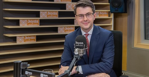 Poseł Piotr Müller w Programie 1 Polskiego Radia
