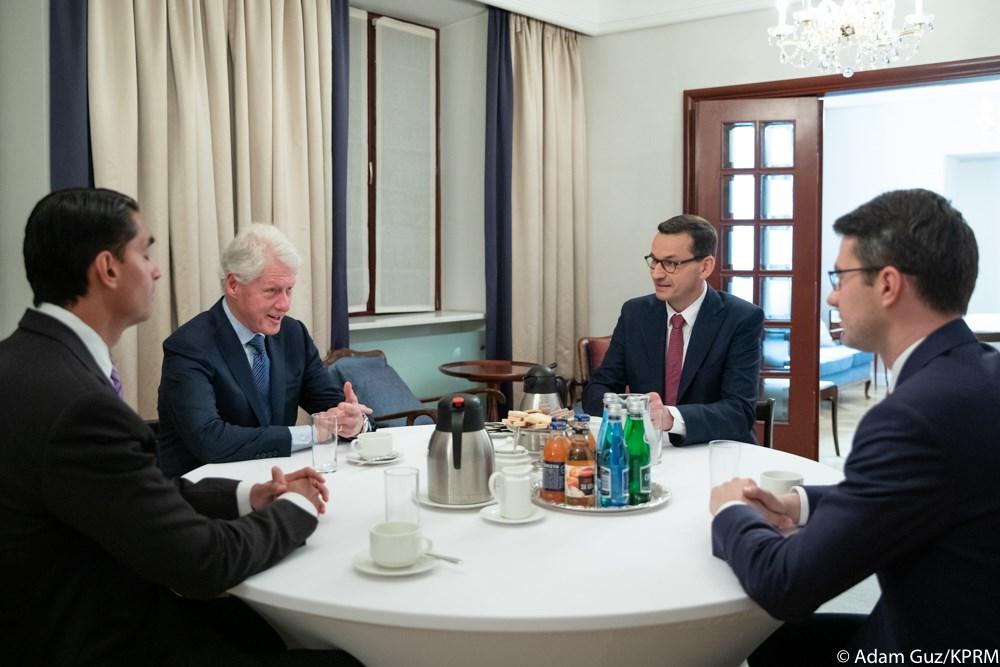 Wizyta Billa Clintona