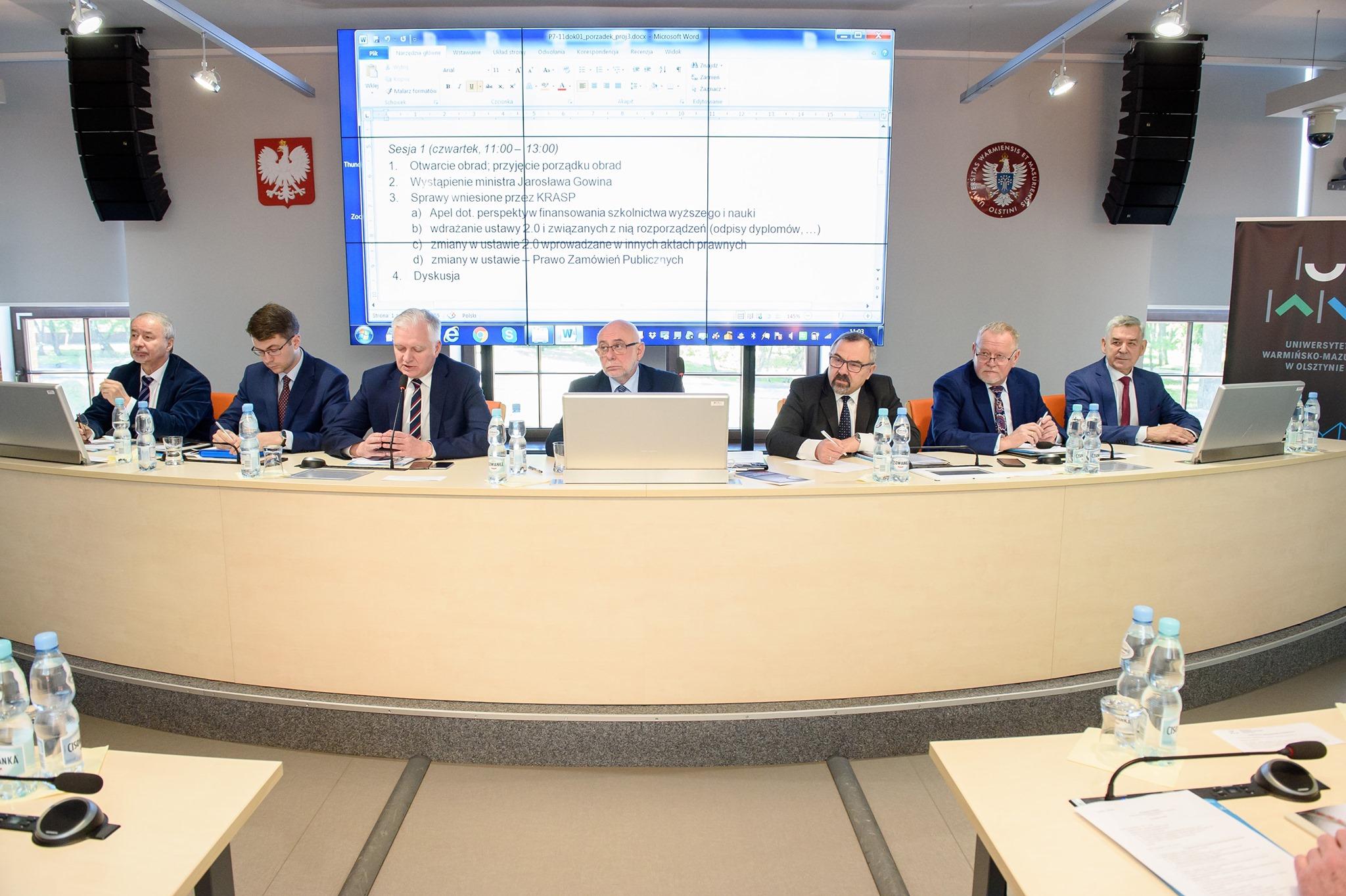 Prezydium Konferencji Rektorów Akademickich Szkół Polskich
