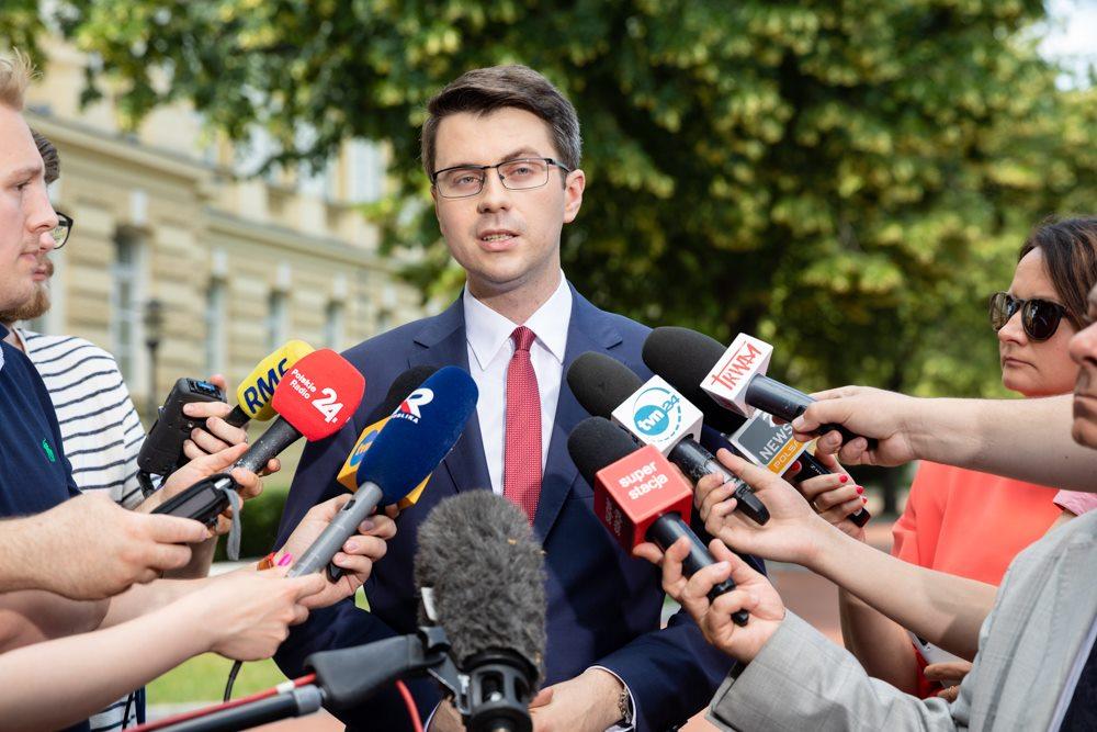 Spotkanie Premiera Mateusza Morawieckiego z Prezydent Gdańska Aleksandrą Dulkiewicz
