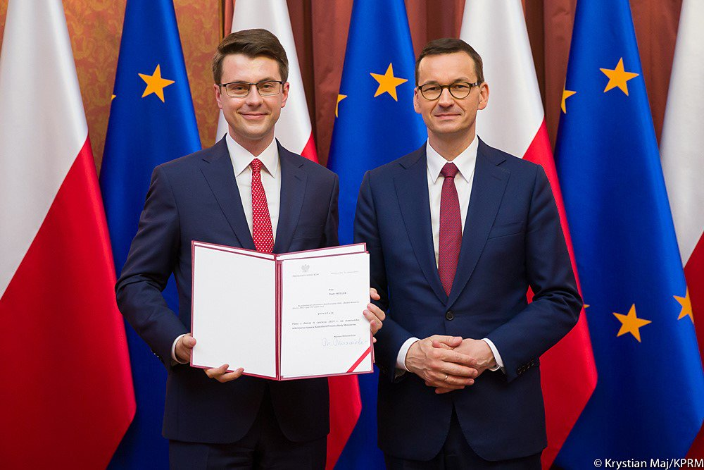 Piotr Müller nowym rzecznikiem rządu