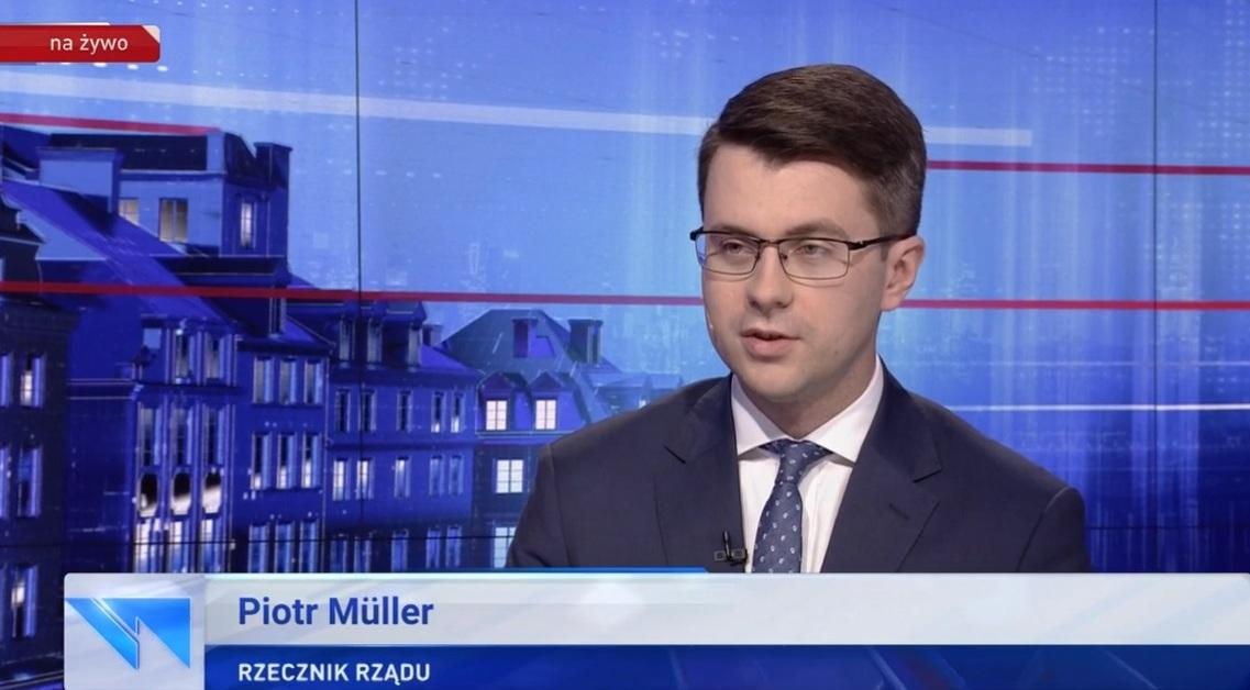 Gość Wiadomości – Piotr Müller