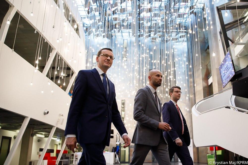 W czwartek Premier Mateusz Morawiecki spotkał się z polskimi przedsiębiorcami w Krakowskim Parku Technologicznym