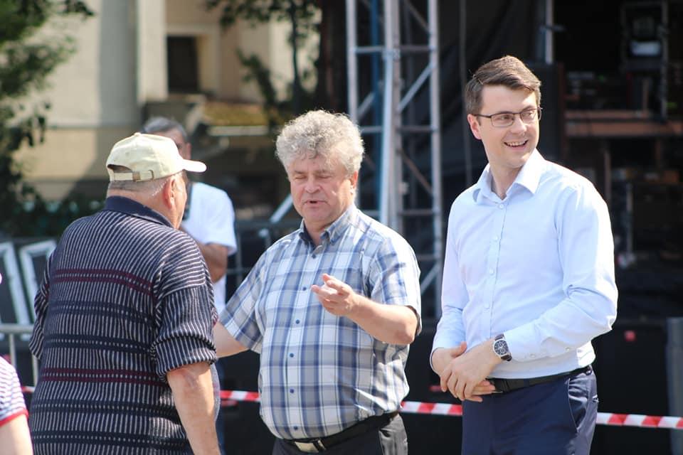 Rzecznik Rządu Piotr Müller wziął udział w obchodach Lęborskich Dni Jakubowych