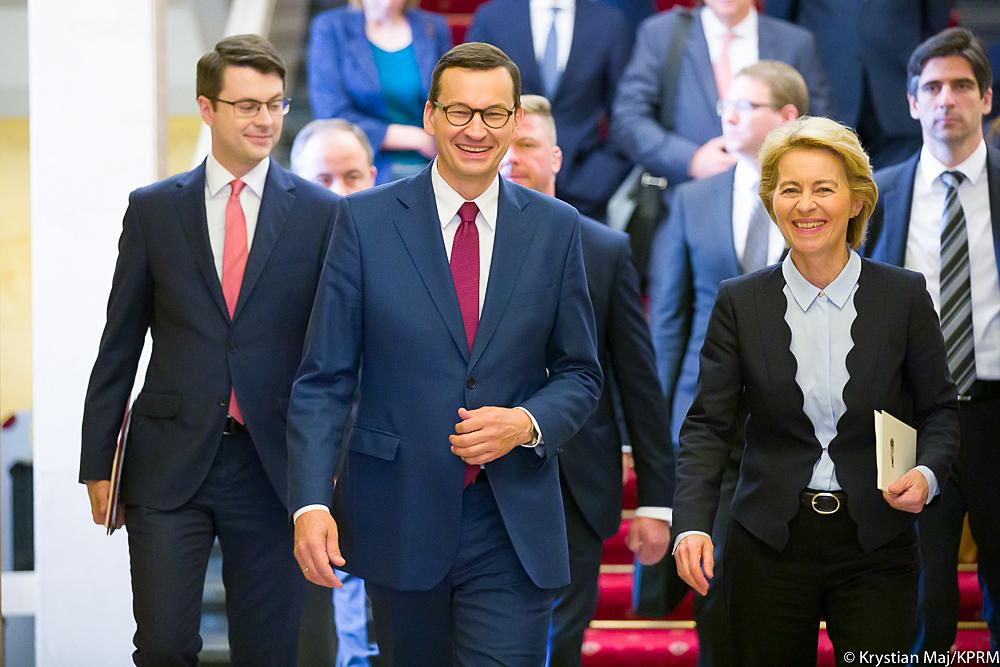 Spotkanie z nową Przewodniczącą elekt Komisji Europejskiej Ursulą von der Leyen