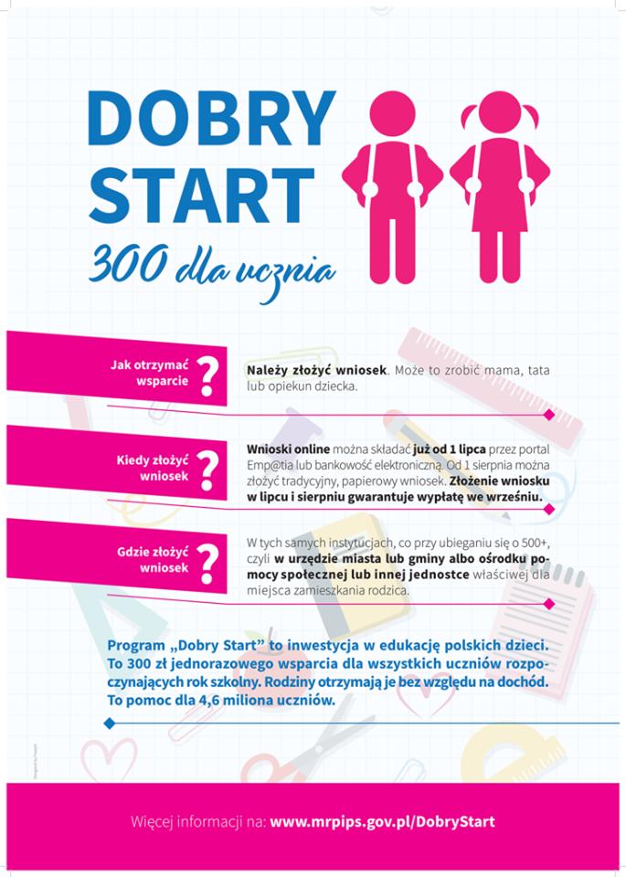 """Program """"Dobry Start"""""""
