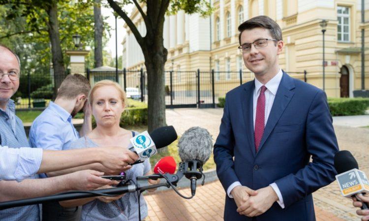 Piotr Müller był gościem porannej audycji Radia Koszalin