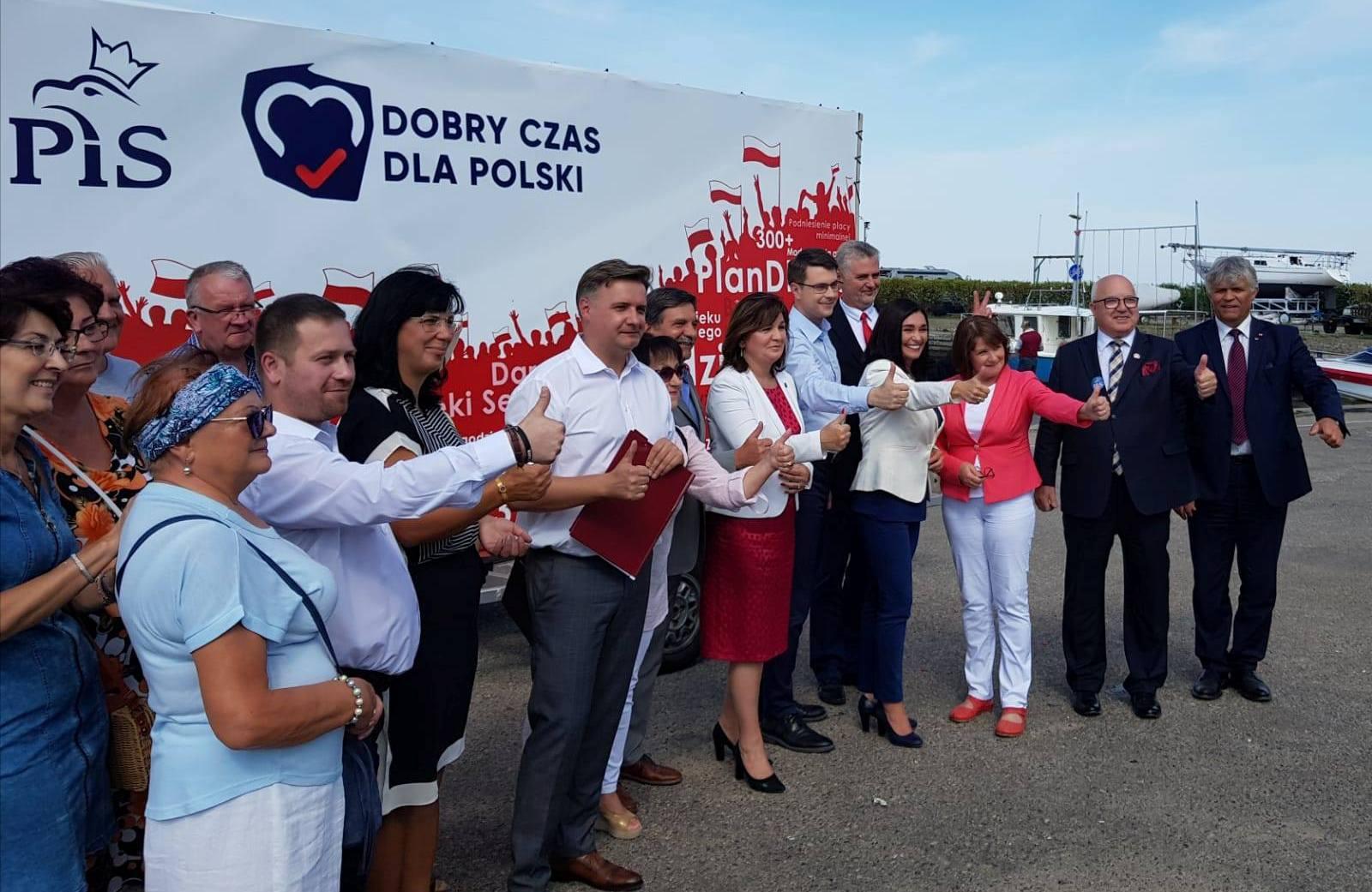 Kandydaci Prawa i Sprawiedliwości odwiedzili Lębork, Wejherowo i Puck