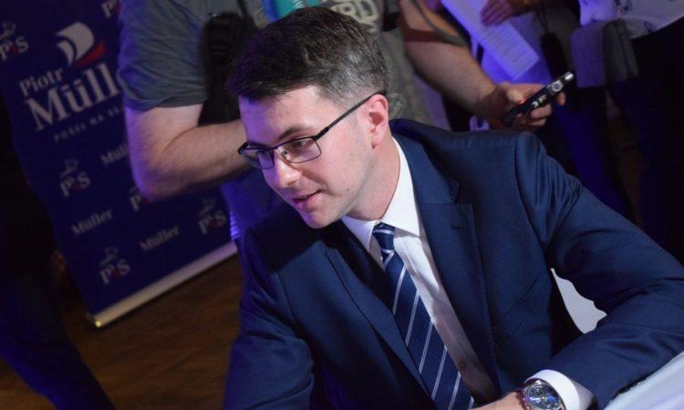 Poseł Piotr Müller spotkał się z mieszkańcami Bytowa, Lęborka i Słupska