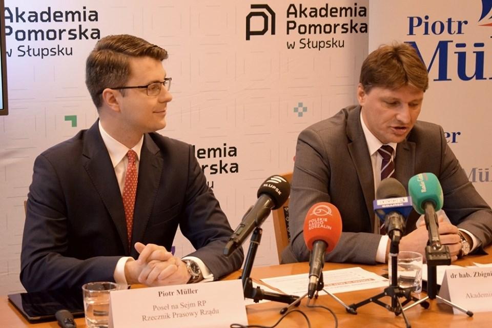 Wsparcie finansowe dla Akademii Pomorskiej w Słupsku