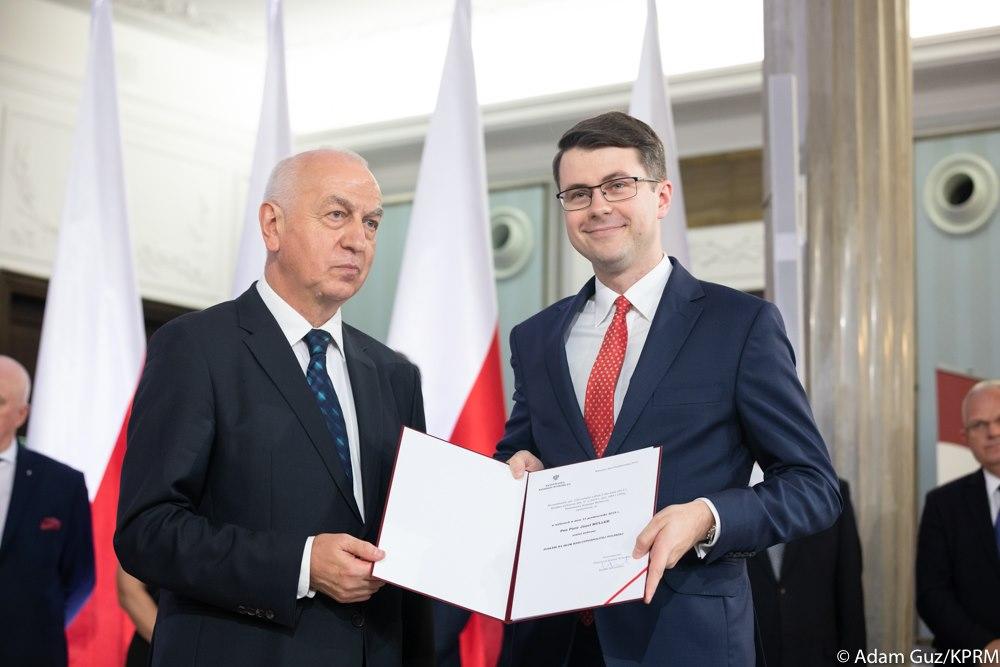 Uroczystość wręczenia zaświadczeń o wyborze na Posła na Sejm RP