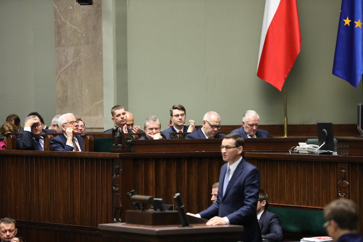 Exposé premiera Mateusza Morawieckiego