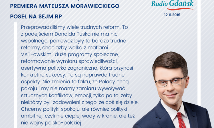 Zapraszamy do wysłuchania rozmowy z rzecznikiem rządu Piotrem Müllerem