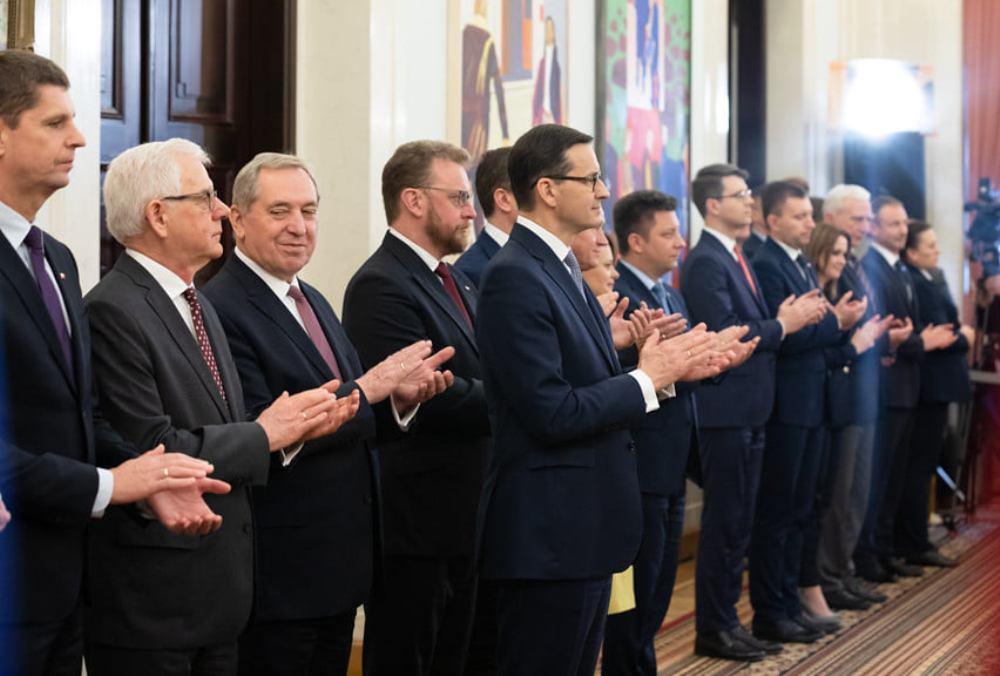Prezydent Andrzej Duda powierzył Mateuszowi Morawieckiemu misję tworzenia rządu