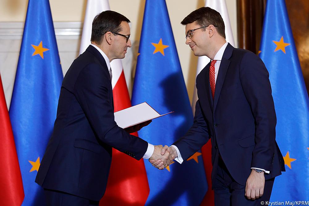 Piotr Müller ponownie rzecznikiem rządu