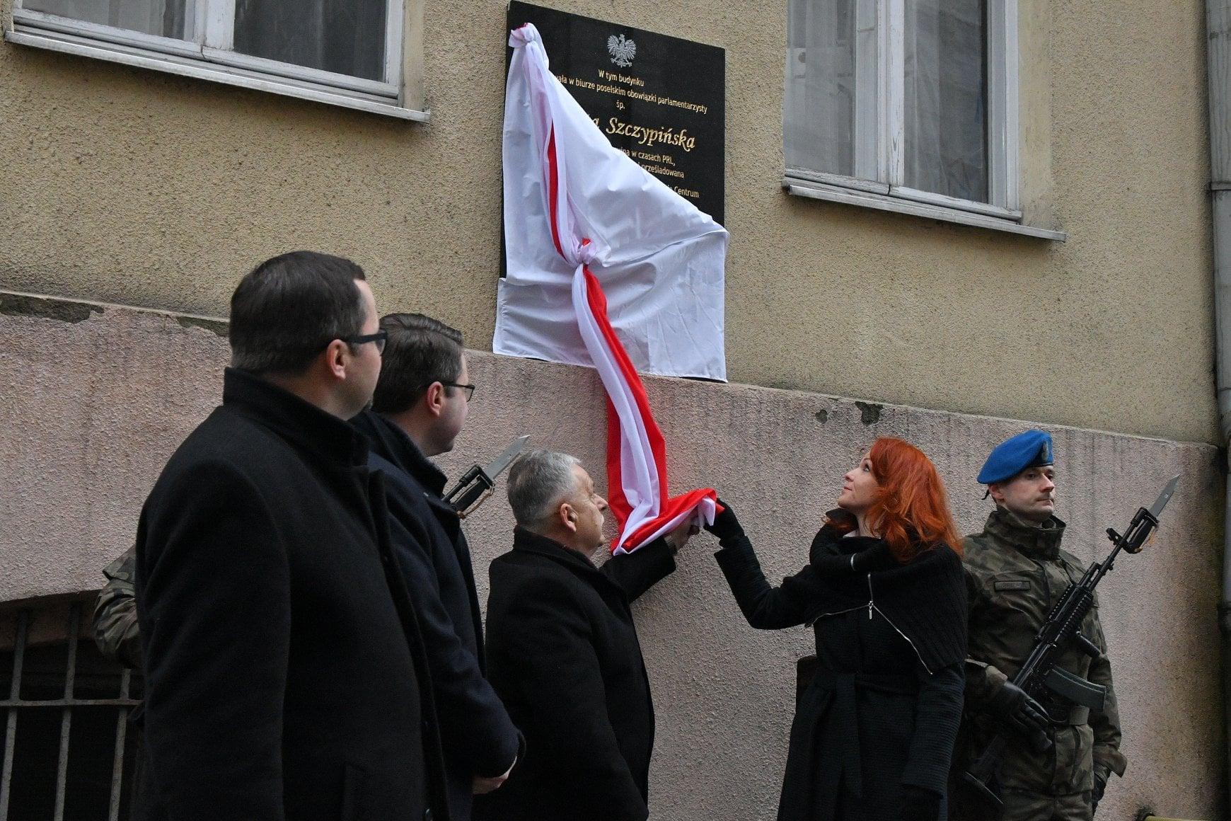 Pierwsza rocznica śmierci poseł Jolanty Szczypińskiej