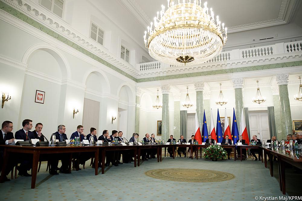 Posiedzenie Rady Gabinetowej w Pałacu Prezydenckim