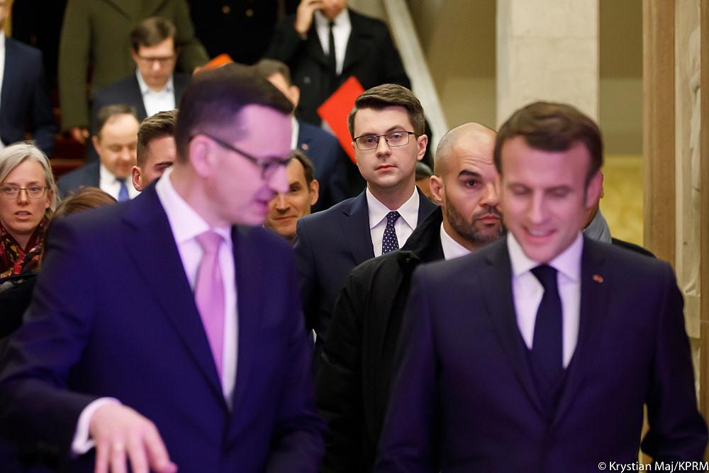 Wizyta prezydenta Francji Emmanuela Macrona