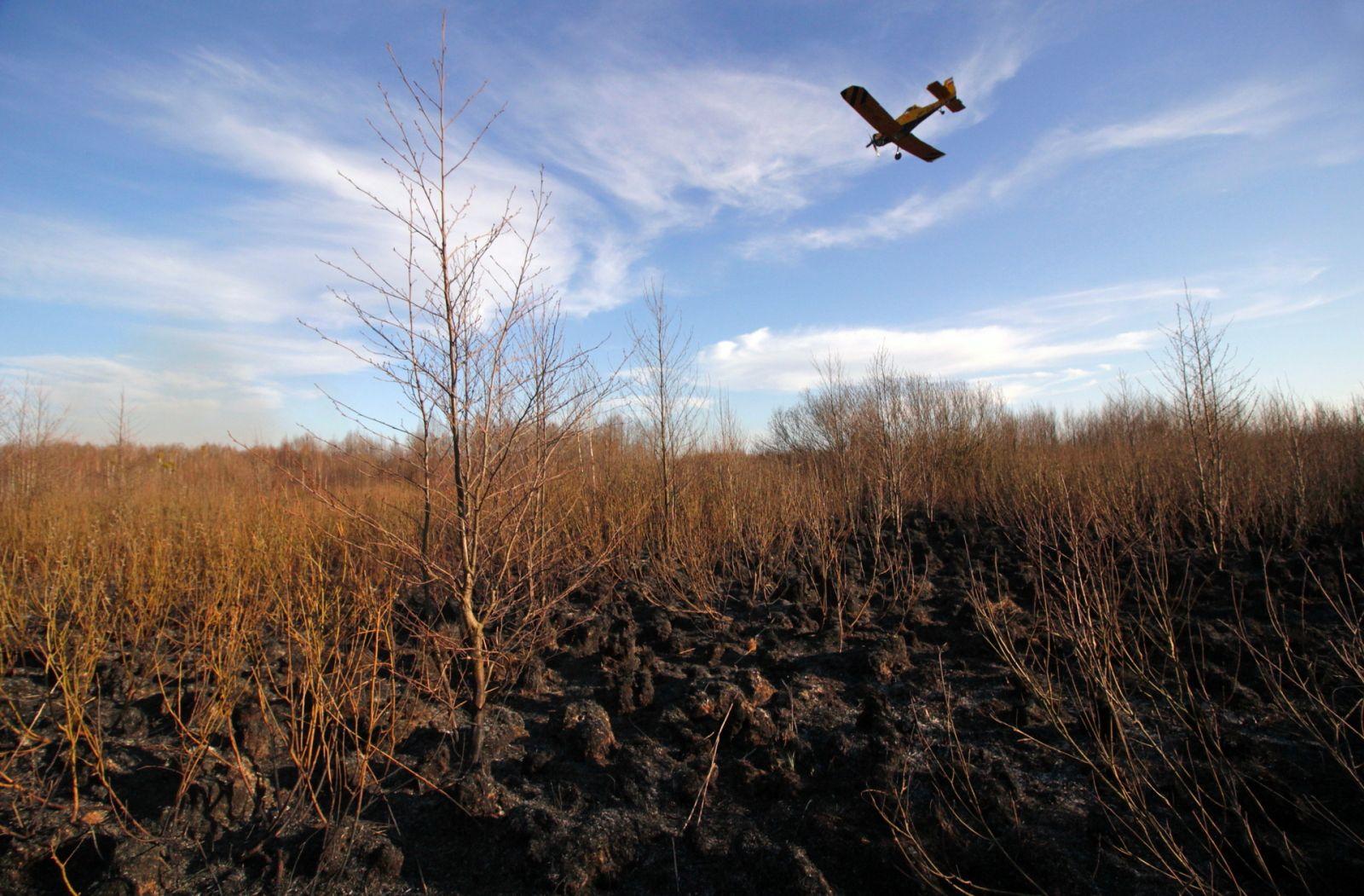 Akcja gaśnicza w Biebrzańskim Parku Narodowym dobiegła końca!