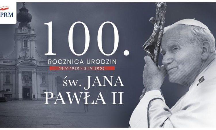 W tym wyjątkowym dniu Piotr Müller razem z premierem Mateuszem Morawieckim miał okazję uczcić pamięć o Ojcu Świętym w szczególnie ważnych miejscach dla papieża Polaka.
