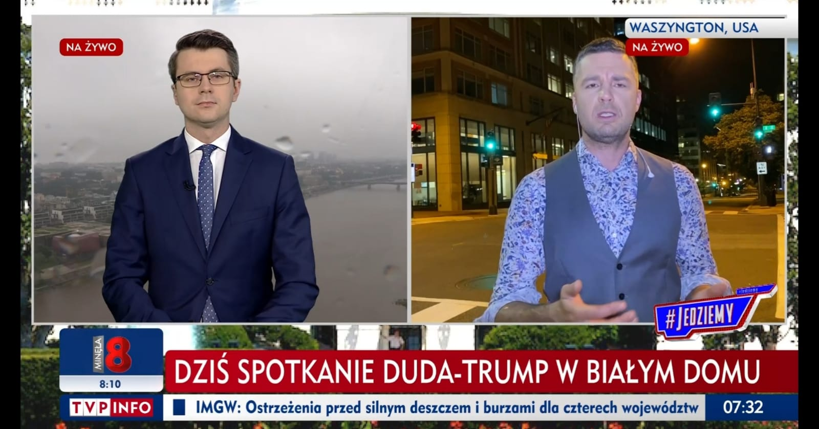 Piotr Müller w programie #Jedziemy