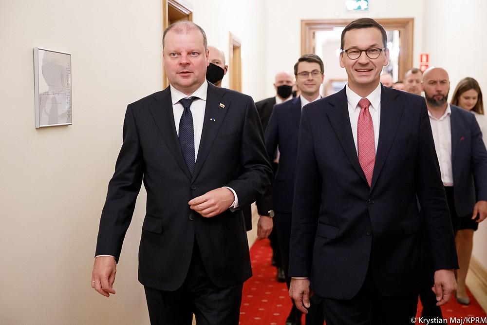 Wizyta prezydenta i premiera Republiki Litewskiej