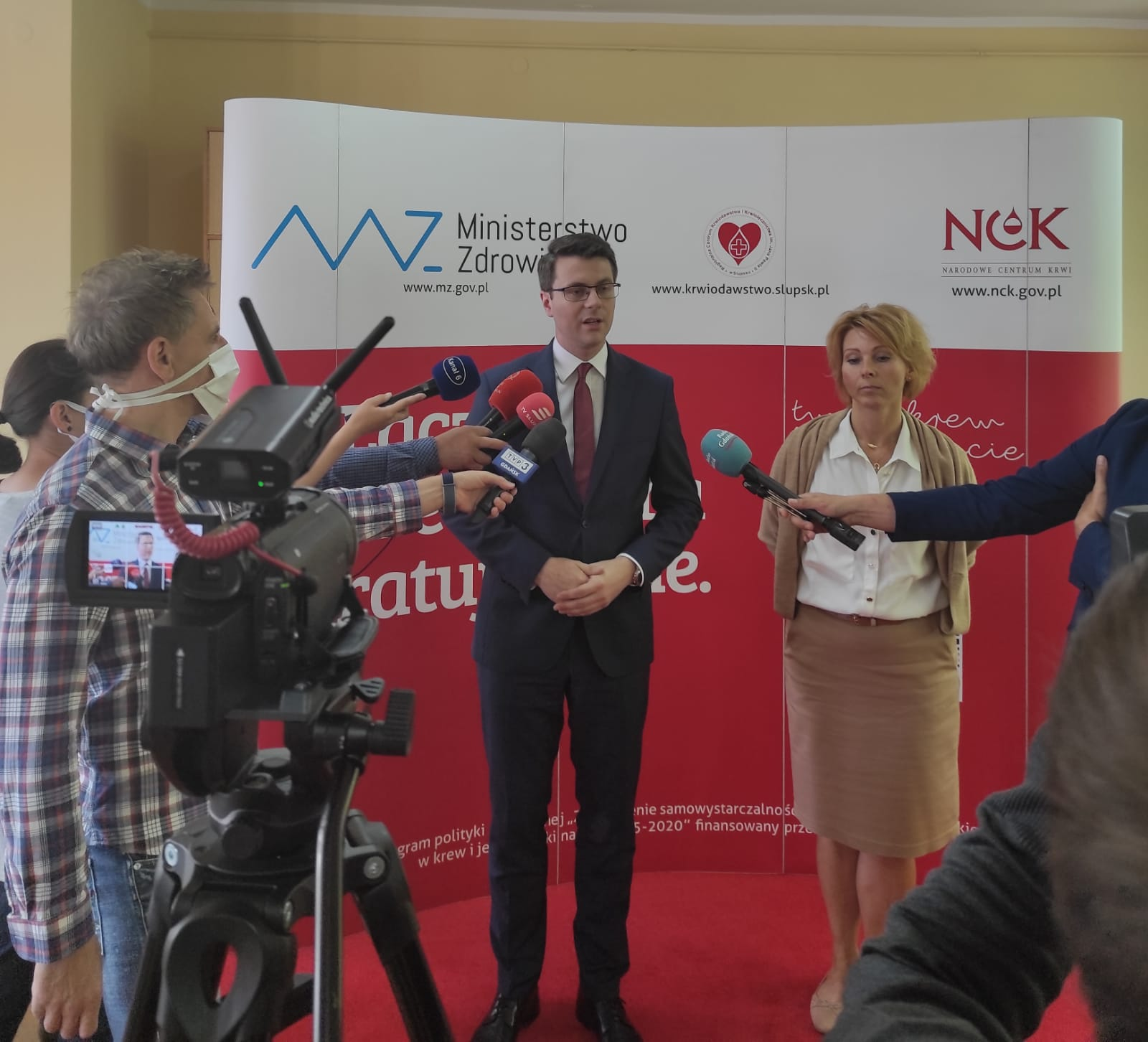 Ponad 300 tysięcy zł na modernizację Regionalnego Centrum  Krwiodawstwa i Krwiolecznictwa im. Jana Pawła II w Słupsku