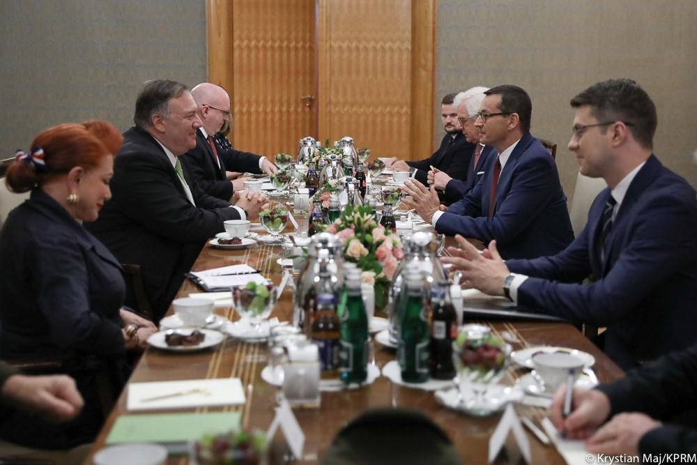 Wizyta Sekretarza Stanu USA Mike Pompeo w Polsce