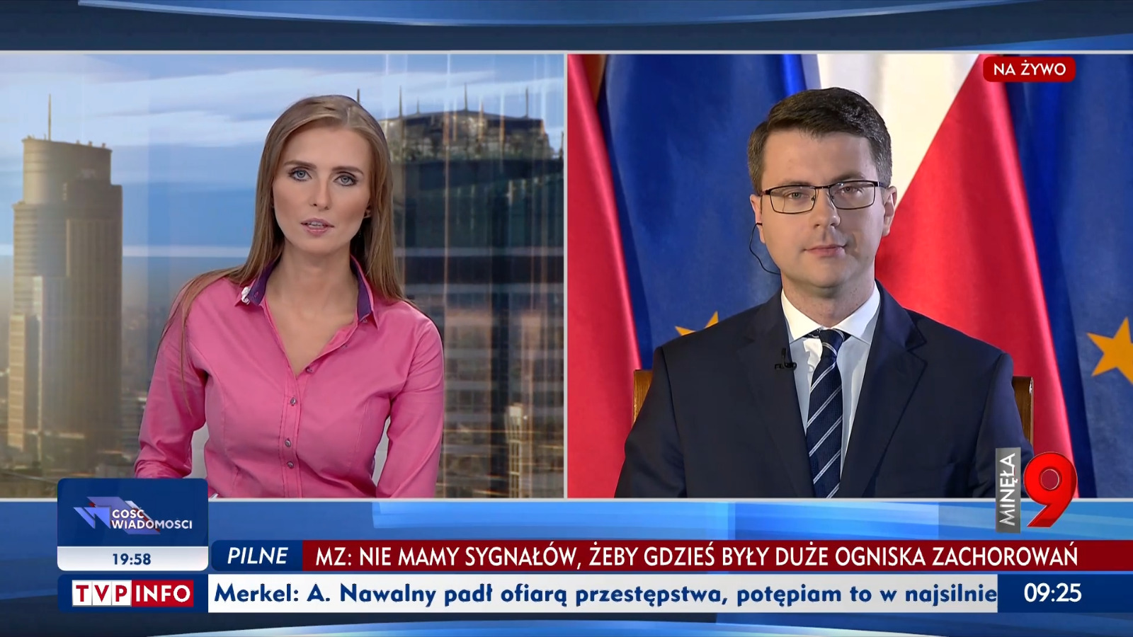 Piotr Müller w programie Minęła 9