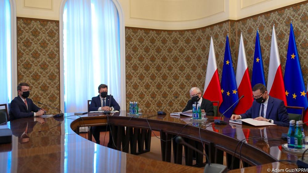 Pierwsze posiedzenie Rady Ministrów w nowym składzie