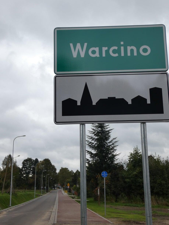 Przebudowa drogi w Warcinie dobiegła końca