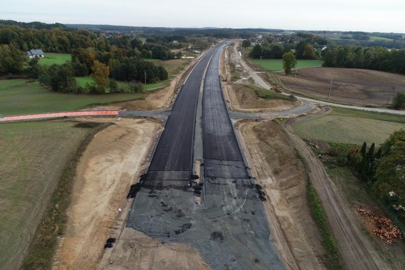 Budowa trasy S6 robi imponujące wrażenie