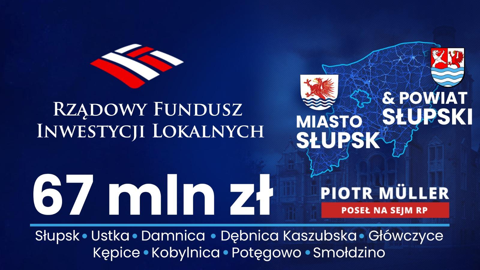 Rządowy Fundusz Inwestycji Lokalnych w regionie słupskim