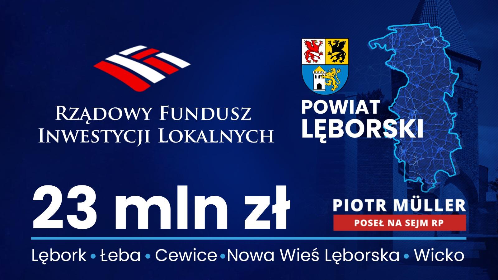 Rządowy Fundusz Inwestycji Lokalnych w regionie lęborskim
