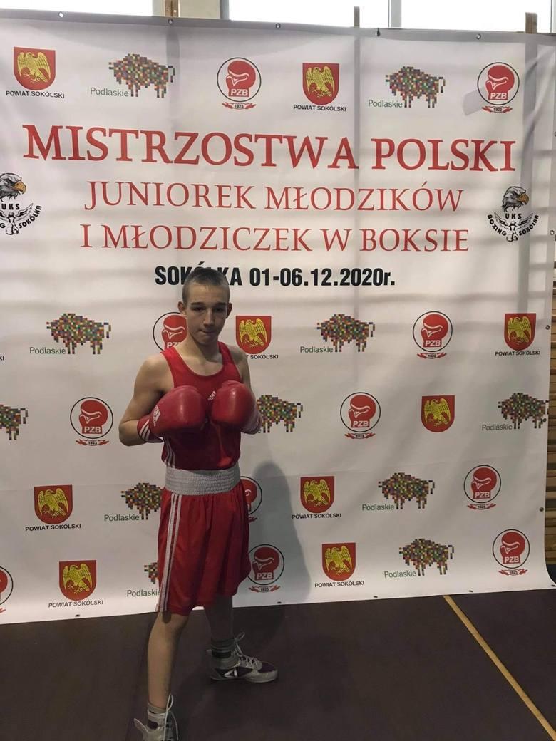 Wojciech Duszyński i Wadim Konszewicz Mistrzami Polski młodzików w boksie